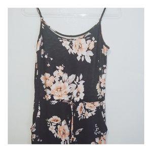 🌸 Floral Pant Romper